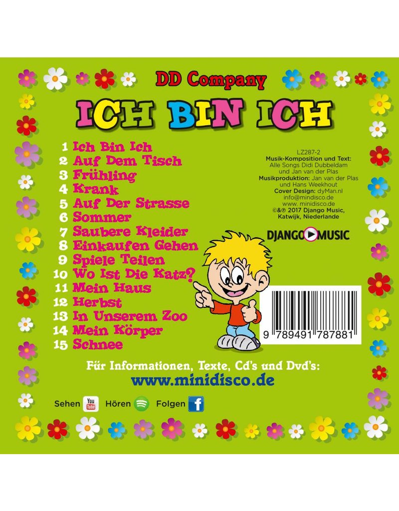 ICH BIN ICH - CD allemand