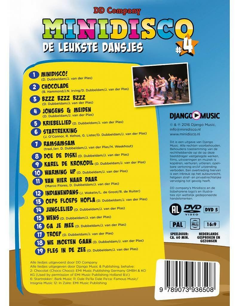 Minidisco DVD #4 + CD #4 (jewelcase) - Copy