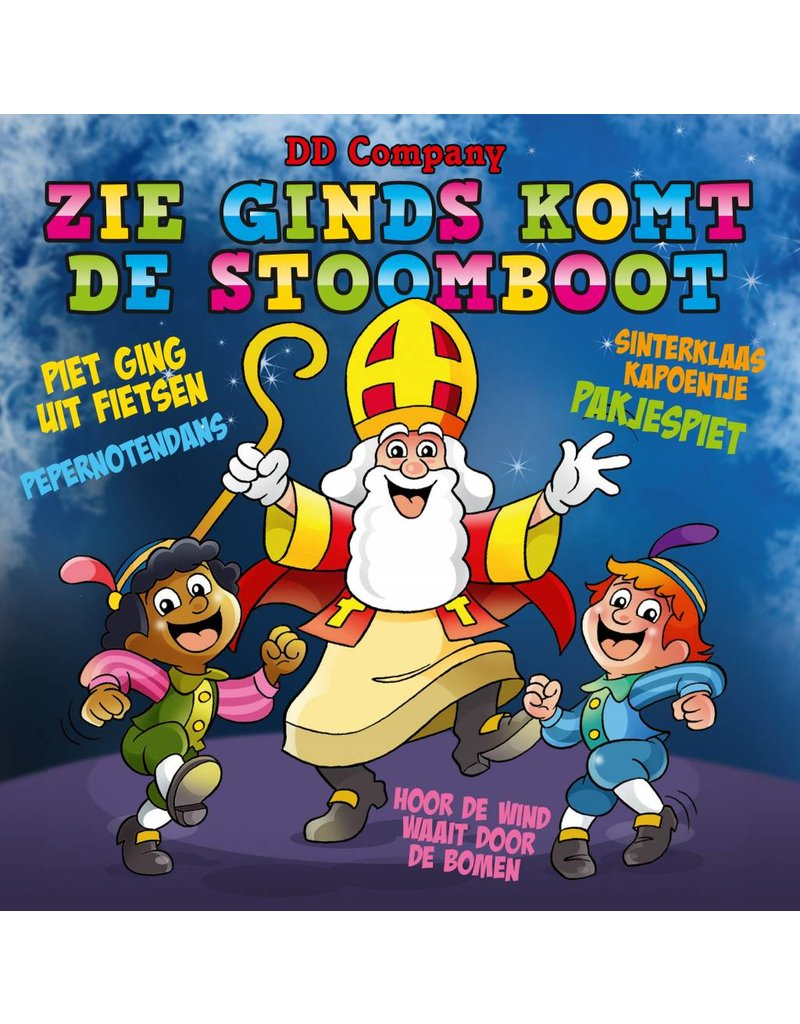 Minidisco - Zie Ginds Komt De Stoomboot - Dutch CD