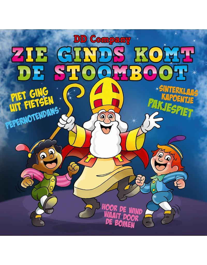 Gratis Kleurplaten Sinterklaas Stoomboot.Winnaars Sint Cd Zie Ginds Komt De Stoomboot Minidisco Nederland