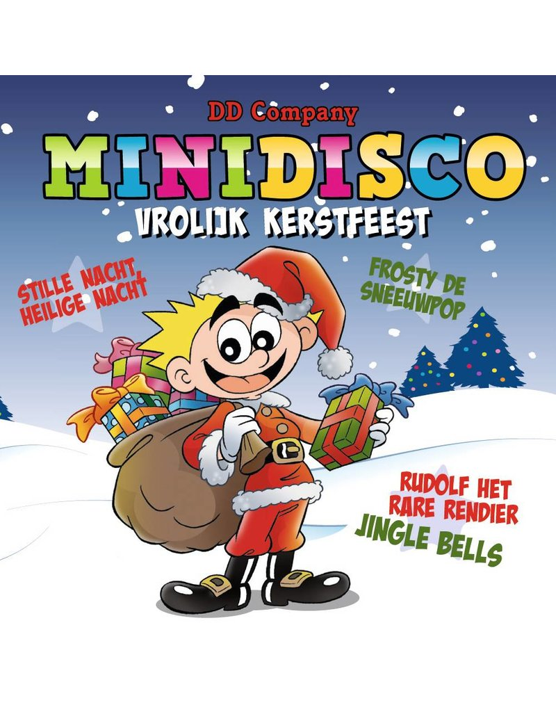 Minidisco Vrolijk Kerstfeest op USB