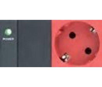 """Retex PDU 19"""" C14>8S+LED rood"""