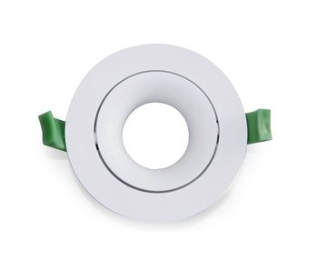 LED Downlight Ring Arc 90mm White