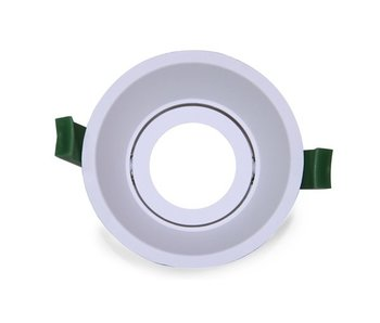 LED Downlight Ring Deep 90mm White