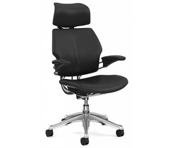 Humanscale Freedom Headrest 2 Black Leather