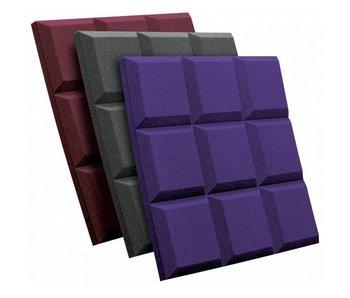 """Auralex 2"""" (5cm) SonoFlat Grid, 2'x2' panel (60cm x 60cm)"""