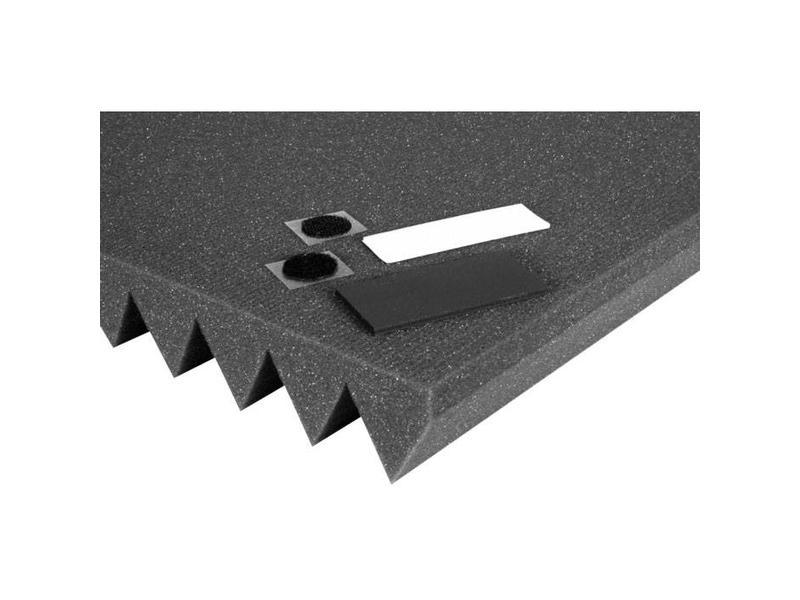 "Auralex TEMP-Tabs Studiofoam Mounting Kit, 72-1.5""x3"" tabs, 72-Velcoins, 72-EZ-Stick Pro Tabs"