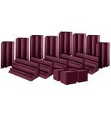 Auralex ATOM 12 : 12 - LENRD Bass Traps, 4 - Cornerfill Cubes,