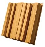"""Auralex Sustain QuadraTec Bamboo Diffusor, 4.1 """"x 23,75"""" x 23,75 """""""