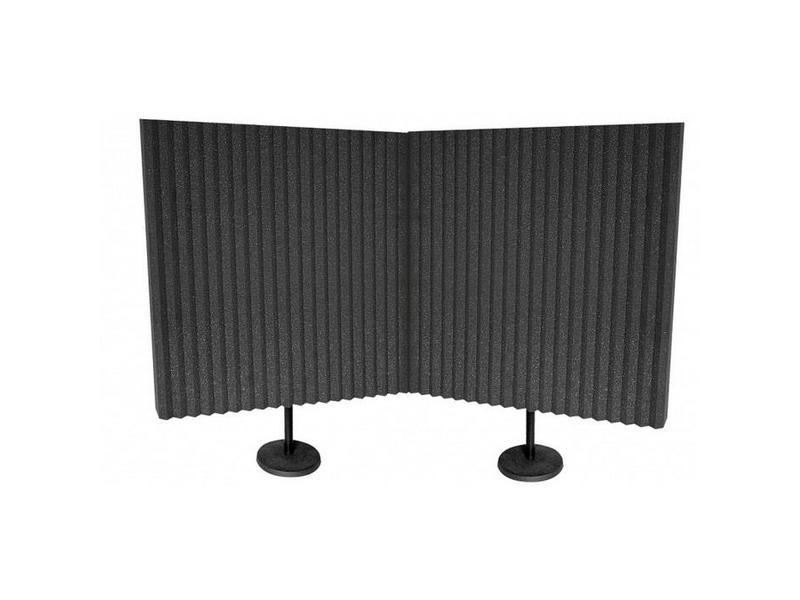 """Auralex DeskMAX Panelen 2'x2'x3 """"panel, met inbegrip van Desk Stand"""