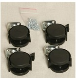 Auralex Casters / Wielen voor Progo 26 base - set van 4 wielen