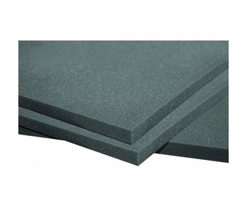 "Auralex PlatFoam Isolation Sheet, 2'x4'x1 ""panel"