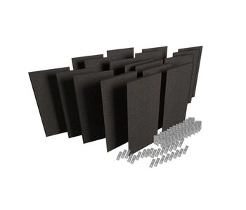Auralex ProPanel ProKit 2-12-B224 ProPanels, 6-M224 ProPanels, bevestigingsmateriaal