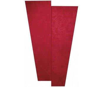 "Auralex SonoSuede Trapezoid Panel (Right angle), 16""x48""x1"", Square Edge, Hardware"