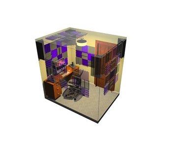 Auralex Alpha DST Roominator Kit, 32-DST112 panels, 32-DST114 panels, 4-LENRD Bass Traps, 3-TTPRO