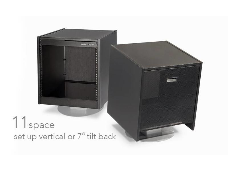 Argosy Mirage 11 Space Rack Black (Flat Packed)