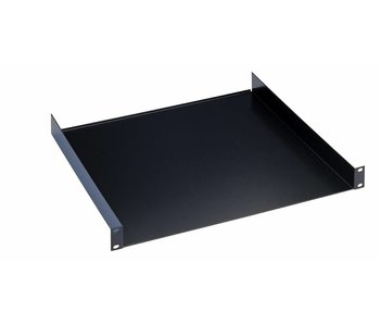 "K̦nig & Meyer 19"" Rack shelf black 2HE 30cm"