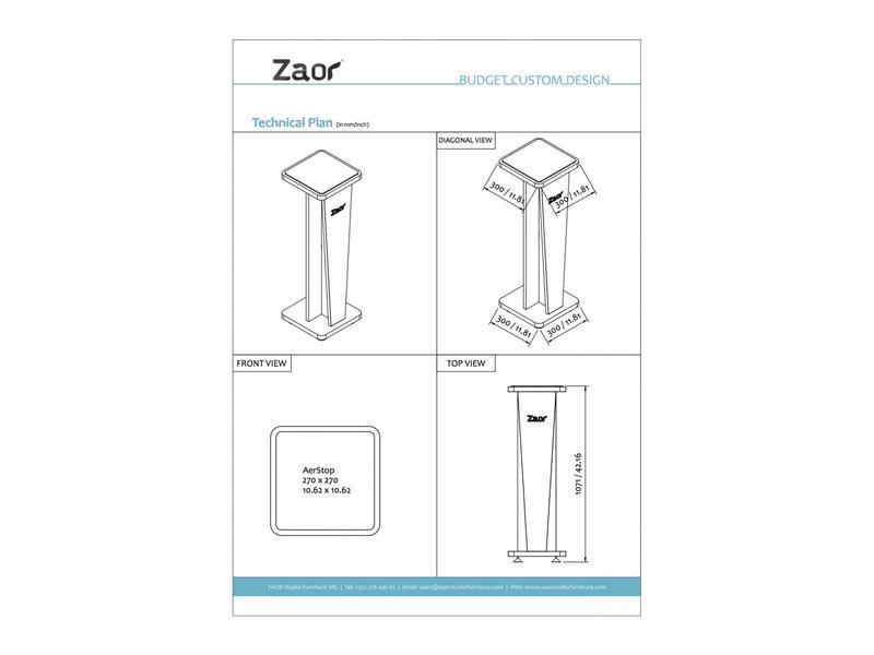 Zaor MIZA Stand V42 (Set)