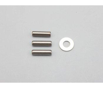 Yokomo FCD Gear x1.5 Solid Axle Set for Rear Maintenance Kit
