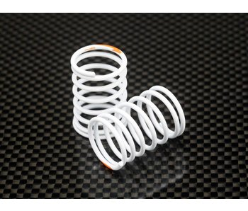 Yokomo Super Drift Spring Super Hard - Orange Mark (2pcs)