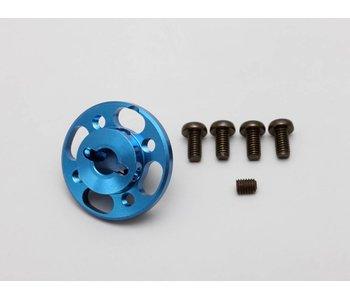 Yokomo Aluminium Spur Gear Hub Light Weight - Blue