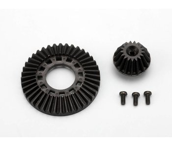 Yokomo Ring Gear / Drive Gear Set for One-Way / Solid Axle