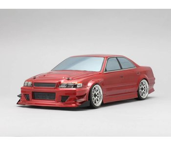 Yokomo Drift Body Toyota Chaser JZX100 - Goodyear Racing / Kunny'z (Graphic / Decal Less)