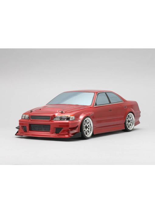 Yokomo Drift Body Toyota Chaser JZX100 - Goodyear Racing / Kunny'z (Graphic / Decal Less)