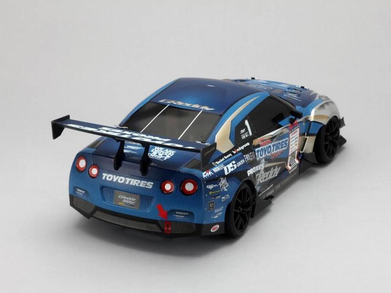 Yokomo SD-GR35BS - Drift Body Set Nissan Skyline R35 - GReddy (D1 Set)