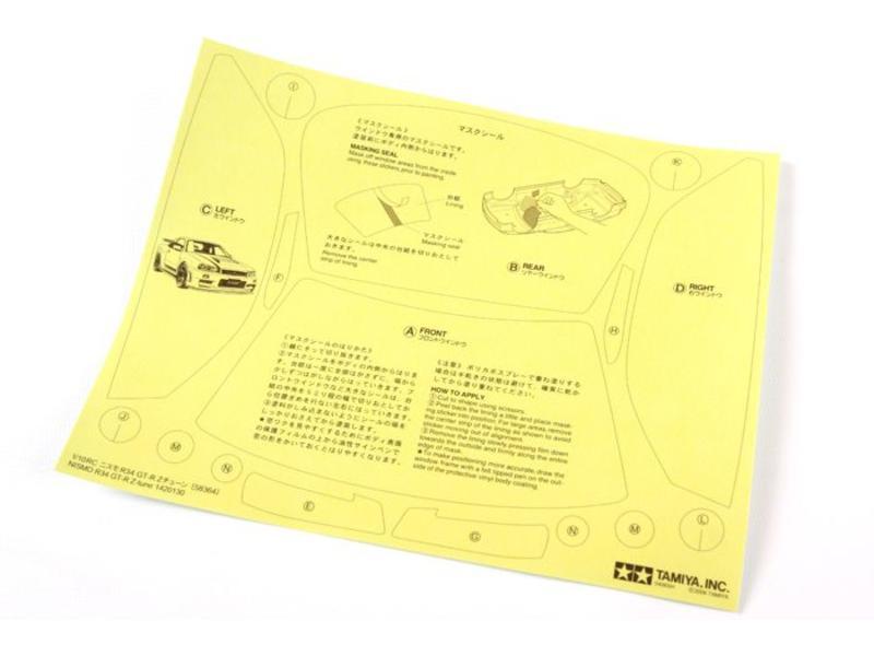 Tamiya 51246 - Nissan Skyline R34 GT-R NISMO Z-Tune Drift Body