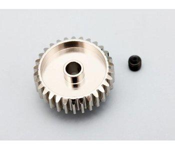 Yokomo Aluminium Pinion Gear Precision Hard Coated 28T / 48P