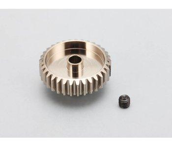Yokomo Aluminium Pinion Gear Precision Hard Coated 34T / 48P
