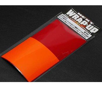 WRAP-UP Next Color Lens Film Set - Red / Orange