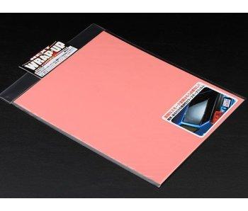 WRAP-UP Next Window Tint Film 250mm x 200mm - Pearl Pink