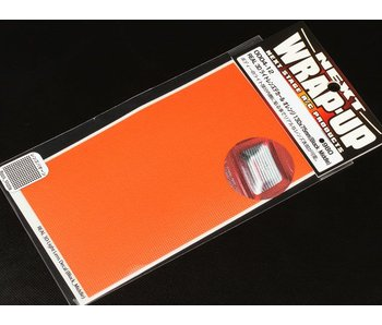 WRAP-UP Next REAL 3D Lens Decal Block Middle 130mm x 75mm - Orange