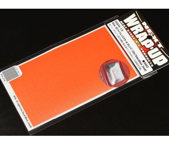 WRAP-UP Next REAL 3D Lens Decal Block Small 130mm x 75mm - Orange