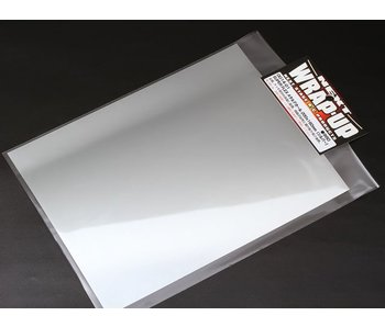 WRAP-UP Next SUPER FLEX Metal Decal 250mm x 200mm - Silver