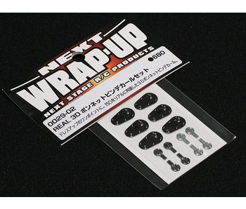 WRAP-UP Next REAL 3D Hood Pin Decal Set