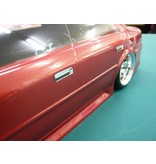 WRAP-UP Next 0023-05 - REAL 3D Front Grill & Door Handle Decal Set for Yokomo JZX-100 Chaser Street Type-A