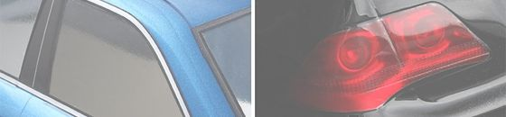 Window & Lens color film