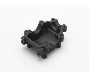 Yokomo Aluminium Gear Case Lower Part - Black Edge Design (1pc)