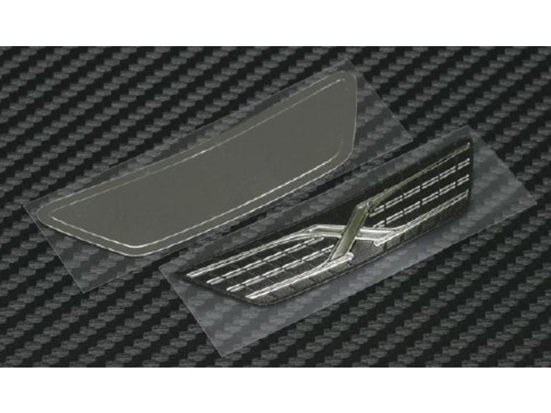 WRAP-UP Next 0023-09 - REAL 3D Front Grill Decal for Yokomo Mark X