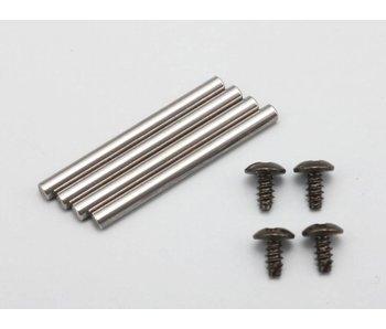 Yokomo Outer Lower Suspension Arm Pin φ2mm x 23mm (4pcs)