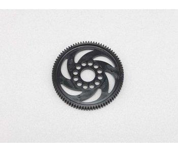 Yokomo Axon Spur Gear Precision 80T / 48P - Black