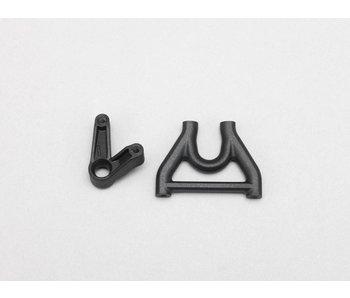 Yokomo Steering Bell Crank / Upper Deck Mount