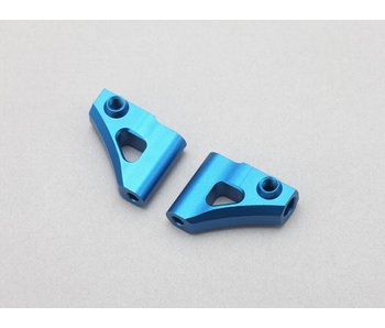 Yokomo Aluminium Upper A-Arm - Blue (1 set)