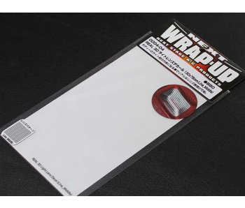 WRAP-UP Next REAL 3D Lens Decal Line Middle 130mm x 75mm - Clear