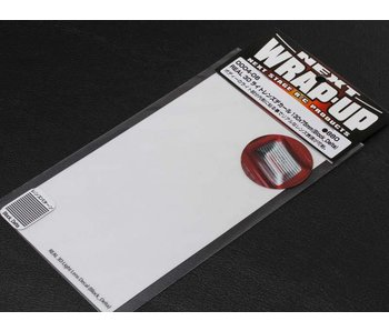 WRAP-UP Next REAL 3D Lens Decal Block Delta 130mm x 75mm - Clear