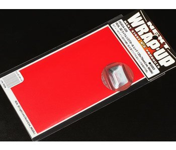 WRAP-UP Next REAL 3D Lens Decal Line Middle 130mm x 75mm - Red