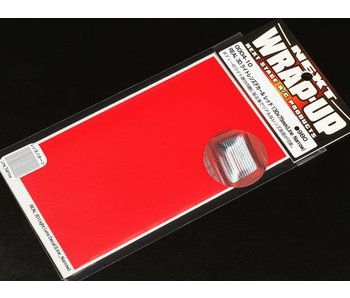 WRAP-UP Next REAL 3D Lens Decal Line Narrow 130mm x 75mm - Red